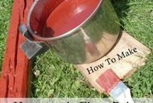 how to make flour paint