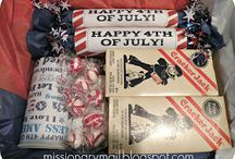 Care Package Ideas / Ideas for care packages, mail and other goodies you can send to a loved on serving in missions or the military overseas.