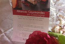 Alliances gourmandes en Gascogne / Les Tables du Gers s'associent avec les Vins des Côtes de Gascogne et ont imaginés des menus exclusifs autour des accord Mets et vins.