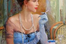 """""""The Ladies"""" paintings,pictures..."""