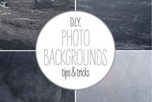 DIY backgrounds