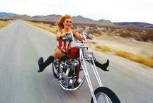 Maiden's Icons / These are the ladies that paved the way! Much respect to the women who follow their hearts and cruise the open road... / by Metal Mulisha Maidens