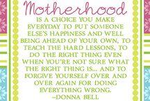 Motherhood and other stuff ♥