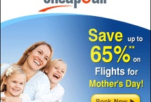 CheapOAir / Spring is in full swing and so are our incredible flight savings! This month, we've got amazing flight deals for Mother's Day and Memorial Day Weekend.