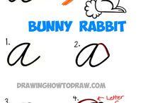 lettres cursive