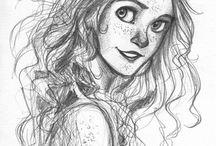 draws of girls
