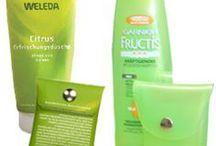Upcycle shampoo bottle