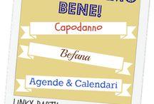 """""""Cominciamo bene!"""" / Raccolta di idee per cominciare bene l'anno creativo, con spunti per il Capodanno, la Befana e il mondo di Agende&Calendari."""