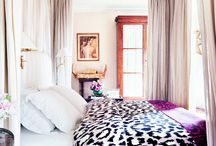 Hollywood's Bedrooms / Celebrity bedrooms show their softer side.