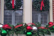 exterior holiday decorating
