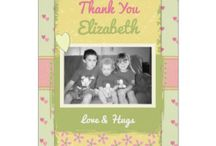 Zazzle ~ Thank you cards