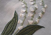 lily embroidery pattern