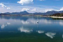 Liptovska Mara (Dam), Slovakia / Liptovska Mara (dam) is the second largest Slovak lake by area (27 km2). It is very popular recreation destination for tourists during summer months.
