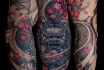 Japonské Tetovania