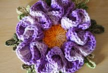 Flores de crochê!!!
