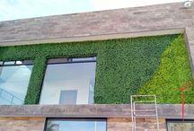 Muros Verdes #murosverdes / Muros Verdes Sintéticos creados por HM Home Supplies