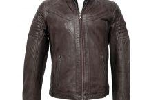 Moda Hombre Otoño Invierno 15-16 / Cazadoras y chaquetas de piel para hombre.