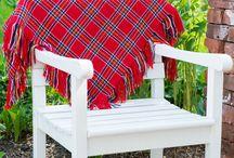 Woollen scarves / Kuvia villahuiveista