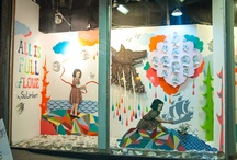 Eastside Projects / East Side Projects is the CAC's monthly window display at the Arts Factory facing Charleston Blvd. This mini-gallery space is available to members who are local contemporary artists working in any media.