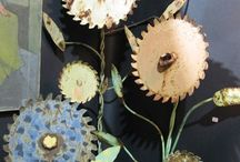 Garden Art / Re-purposed Creations  / by Maureen Sexsmith-West