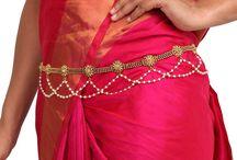 Belts / #Kushals #Jewellery #FashionJewellery #IndianJewellery #WeddingAccessories #Belt #Antique #Zircon #Kundan