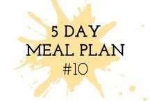 Meal Plans / Menu Plans