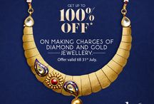 Get up to 100% off on making charges of Gold and Diamond jewelry