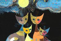 Kunst med katter