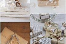 Inpakken cadeautjes
