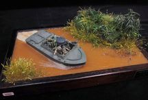 WWII vehicle models