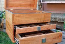 rosewood tackle box / custom built