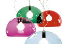 Hanglampen voor boven de salontafel