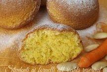 tortino alle  mandorle e carotte