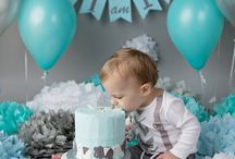 Grayson 1st birthday