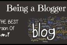 Being a Blogger / This a about what being a blogger means to me.