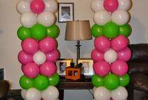 ideas de globos