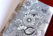 Inspirace Zentangle