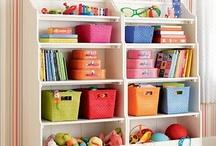 Toy room storage