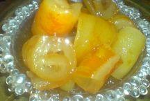 γλυκά του κουταλιού, μαρμελάδες, ζελεδακια