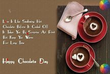Chocolate Day Quotes / On this Valentines we are sharing with you some lovely fresh Chocolate Day Quotes 2017 for their love buddies and want to impress lover. On this day people presents chocolates to their lovers and sweetheart with full of happiness and joy.