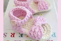 crochet baby shoes/boots / by Kelly Thompson
