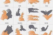 Figures amb mans