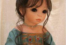 """dolls  and dolls /  poupées coup de coeur (hors les LD!) poupées d'artistes,poupées """"à jouer """"etc... / by anne madaule"""