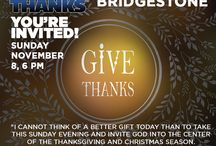 Give Thanks 2015! Be there! / by World Outreach Church