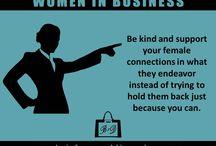 Women in business / Inspirational/leadership / by Stephanie Delgado Navasu