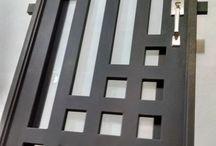 desain pintu besi