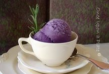 Lavender icecream