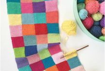 crochet blankets & pillows