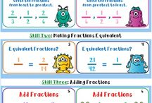 Roller Maths / Maths products mostly task cards from my TpT store.