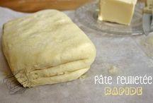 Pâtes à Tarte à Gâteaux
